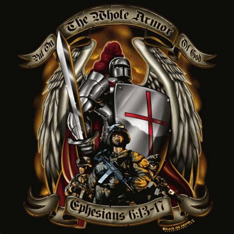 full armor of god tattoo armor of god black t shirt