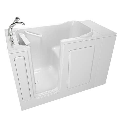 safe bathtubs safety tubs value series 48 in walk in air bath bathtub