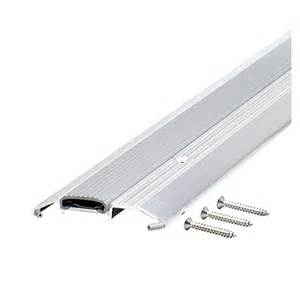 shop m d 0 75 in x 36 in aluminum door threshold at lowes