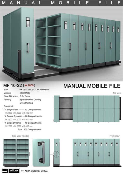 Rak Arsip Bergerak mobile file pusat penjualan alat kantor distributor