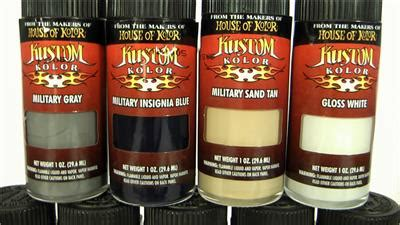 9 lexan house of kolor kustom airbrush paint 10 1oz bottles hobby model color ebay