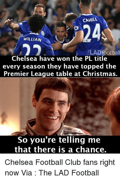 Chelsea Meme - 25 best memes about premier league table premier league