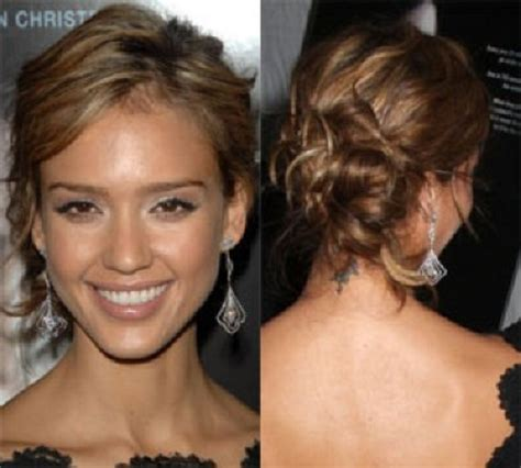 medium length hair for black tie long hair updos messy images