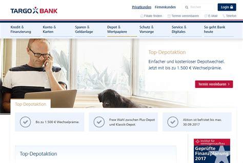targo bank test targobank aktiendepot erfahrungen test