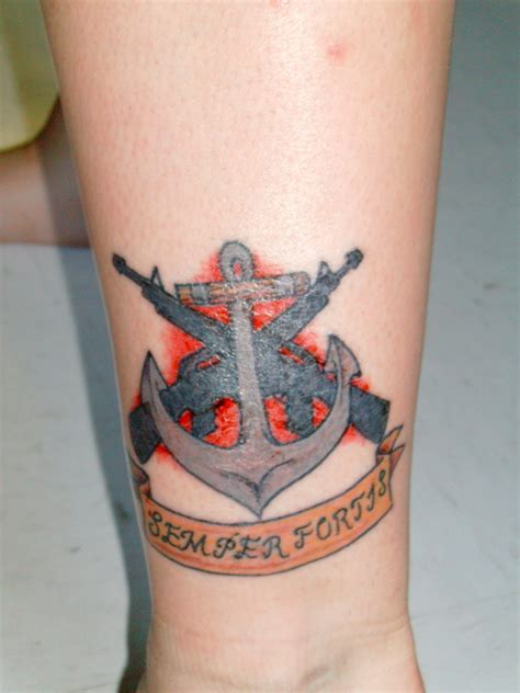 semper fortis tattoo navy by atticus csh on deviantart