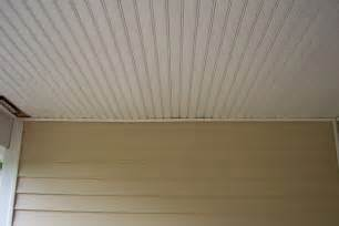 Beadboard Patio Ceiling by Beadboard Porch Ceiling Beadboard Vs Wainscoting