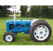 Restored Fordson New Performance Super Major Tractor