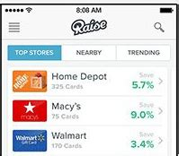 Raise Gift Card Review - raise com app review buy sell gift cards at a discount full time job from home