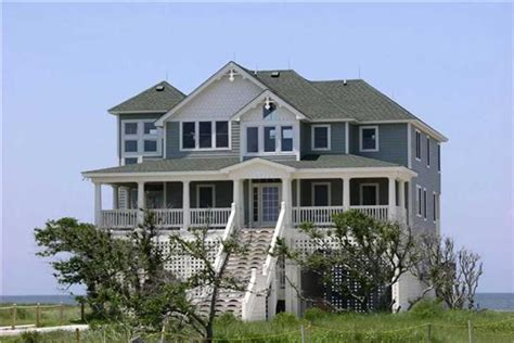 ocean front house plans beachfront homes and house plans the plan collection