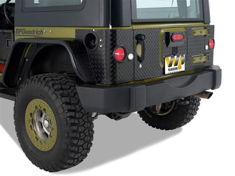 Jeep Wrangler Tailgate Warrior Products 920dpc Warrior Products Tailgate Covers
