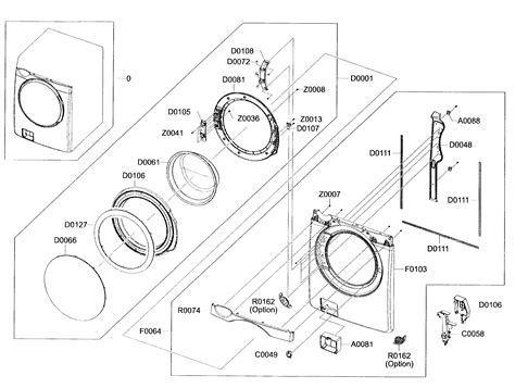 samsung washer parts 301 moved permanently