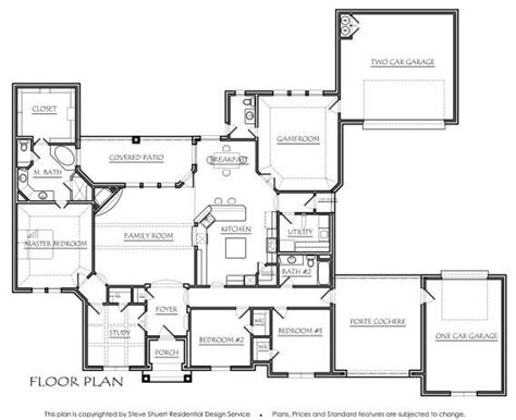 good layout features texas house plans just right and good layout