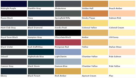 valspar lowes paints chip swatch sle palette
