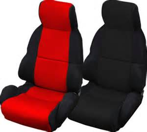 Car Seat Covers For Corvettes C4 Corvette 1984 1996 Neosupreme Seat Covers