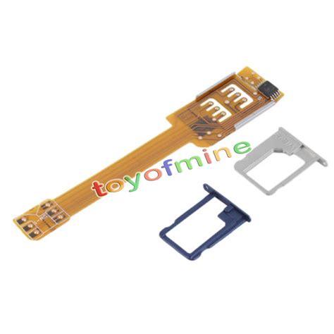 Sim Cutternano Simcutterpemotongan Simcard 5 dual sim card adapter converter for iphone 6 iphone 6 plus 6s and iphone se ebay