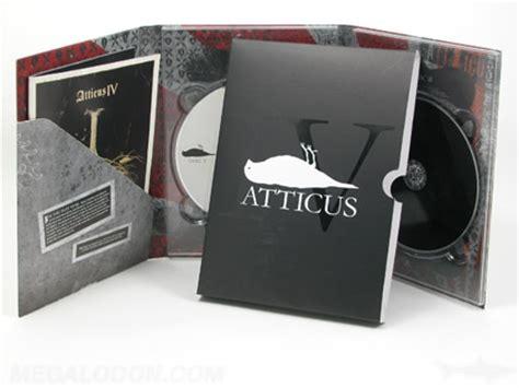 Cetak Dvd Digipak Set atticus2 6pp traypak 2cd slipcase matte lam spot gloss esi manufacturing inc