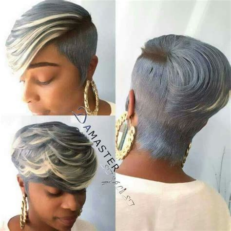 Picture Of Precision Grey Hair Haircut | 293 best images about crown of glory african american
