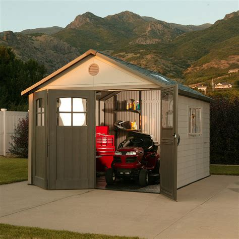 Lifetime Outdoor Storage Shed Reviews lifetime 174 11 x 11 resin shed reviews lifetime outdoor