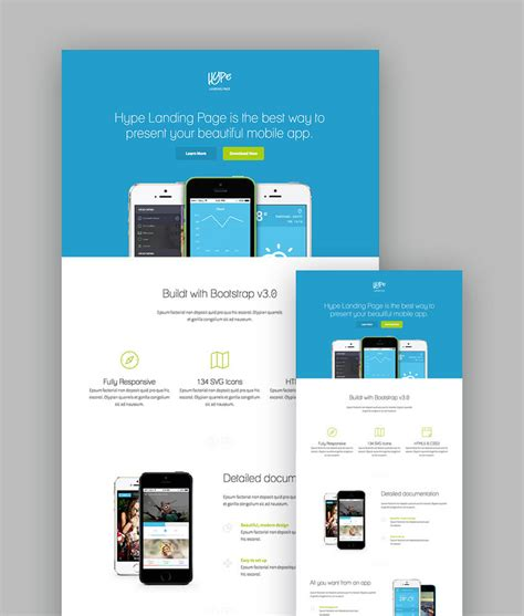 landing page templates for blogger 18 best responsive html5 landing page templates 2018
