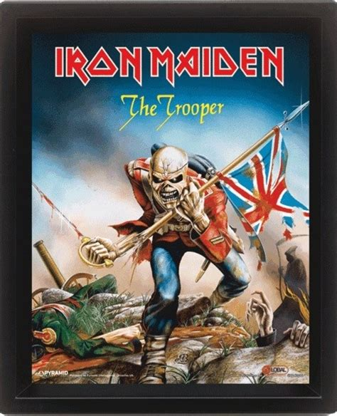 Plakat Iron Maiden by Plakat Obraz Iron Maiden The Trooper Posters Pl