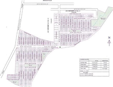layout plan of township avc township sector iv in adibatla hyderabad price