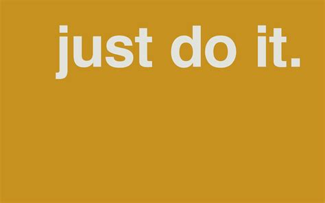 Just Do It just do it wallpaper 133792