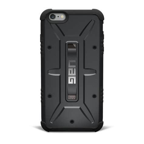 Uag Iphone 6 6g 6s Armor Gear Cover Bumper Hardcase Black armor gear for iphone 6s protects and serves