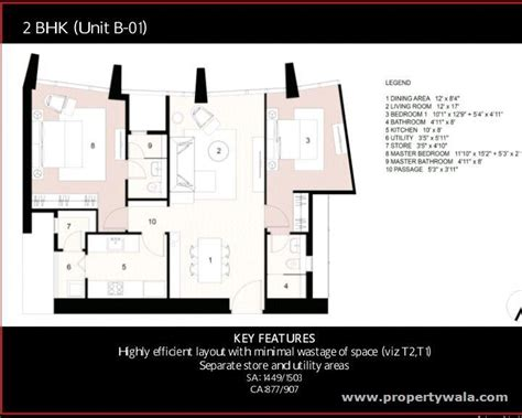 Prudential Center Floor Plan by Lodha Codename August Moon Worli Mumbai Apartment