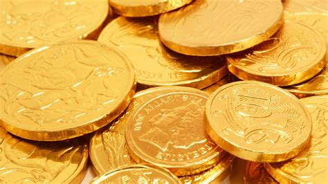 wallpaper of gold coins coins money chocolate gold wallpaper 1920x1080 330603