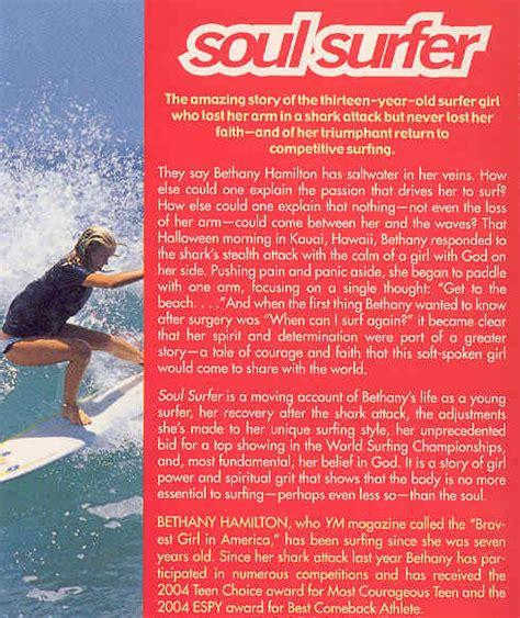 soul surfer book report bethany hamilton soul surfer book