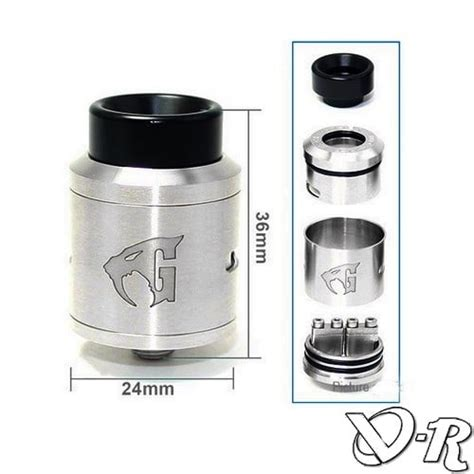 Goon V 15 Clone dripper goon 1 5 rda clone bf bottom feeder vapo r