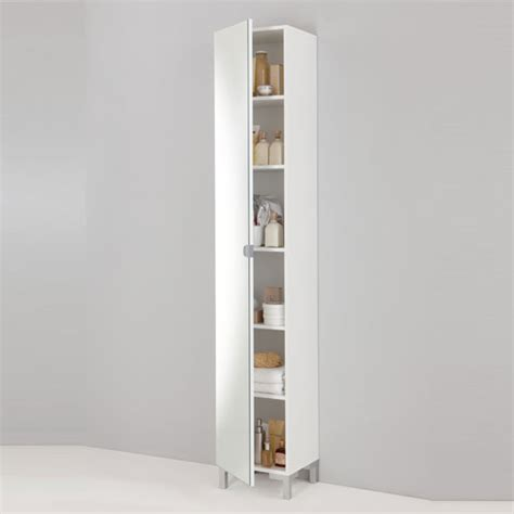 tall mirror bathroom cabinet tarragona bathroom cabinet floor standing in white 10138