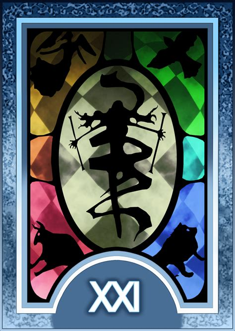 printable persona tarot cards persona 3 4 tarot card deck hr the world arcana by