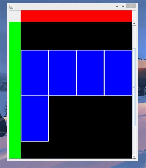 java swing colors java how to create a calendar week view component in