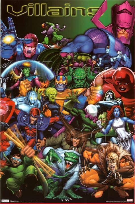 los 5 mejores villanos de dc comics hero fist top 50 mejores villanos de marvel comics comicr 237 tico