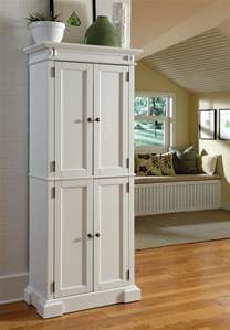 Kitchen Pantry Storage Cabinets by Adding An Elegant Kitchen Look With White Kitchen Pantry