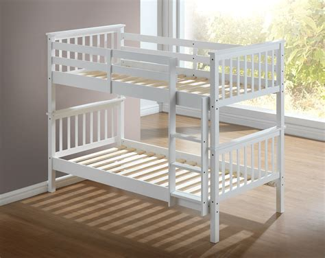 White Futon Bunk Bed by New Bunk Bed White Hardwood Drawers Optional The