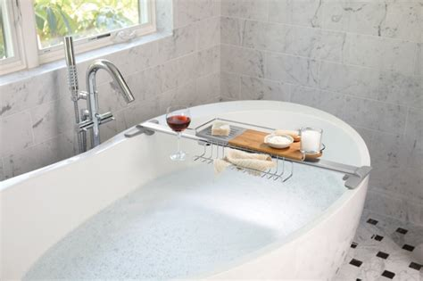 bathtub caddy modern bath caddy rack and tray ideas pre tend be curious