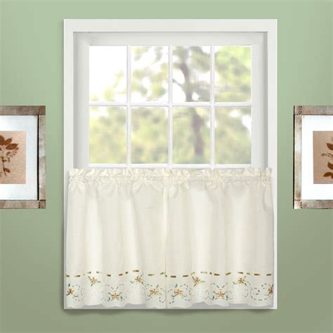 60 x 36 curtains united curtain company rachel 60 quot x 36 quot window tier from