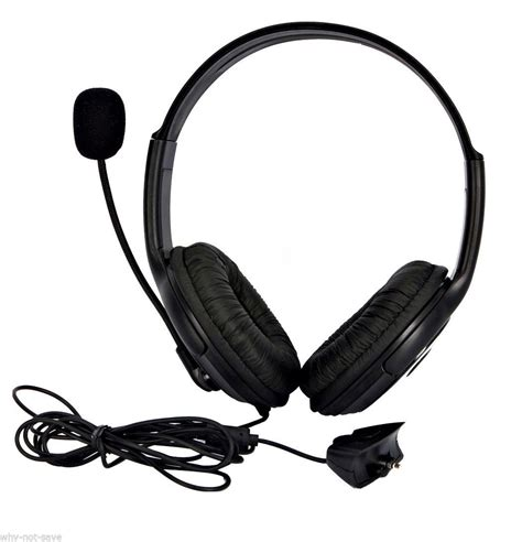 Headset Microphone Gaming Big Gaming Headset Headphone With Microphone Mic For Xbox 360 Xbox360 Live S E Headsets