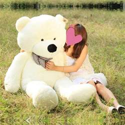 white color cuddly stuffed animals plush teddy