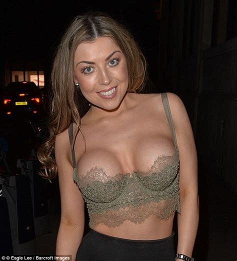 Ex Towie S Abigail Clarke Trolled Over Her Grotesque