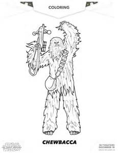 chewbacca coloring pages wars the awakens chewbacca coloring page