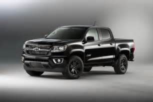 Chevrolet Truck Midnight Special Edition Chevy Trucks Return In 2016