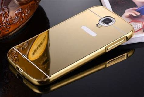 Bumper Mirror Samsung Galaxy S4 Aluminiummetals Limited obudowa bumper metal mirror samsung galaxy s4 z蛯ota