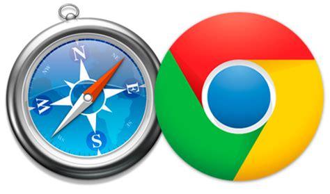 chrome vs safari comparando navegadores m 243 viles chrome en android vs