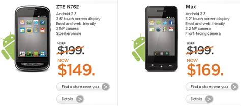android max mobile announces zte n762 and max android phones softpedia