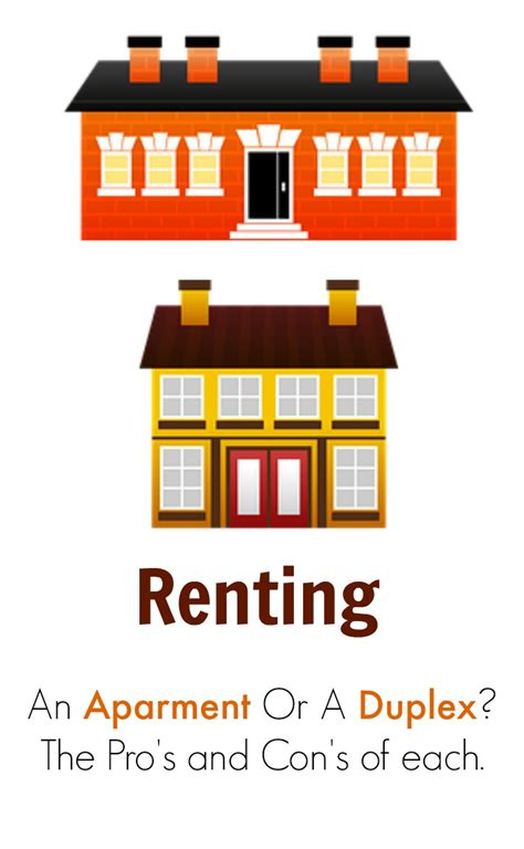 renting an apartment renting an apartment vs a duplex deciding what is best