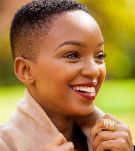 connie ferguson short hairstyles nandi madida has given birth daily sun