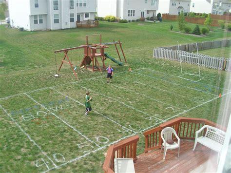 Backyard Soccer by Triyae Backyard Soccer Field Various Design